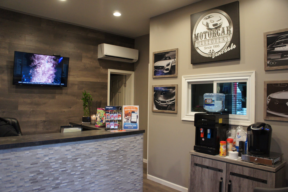 Motorcar Makeovers - Lansdale - Customer Lounge